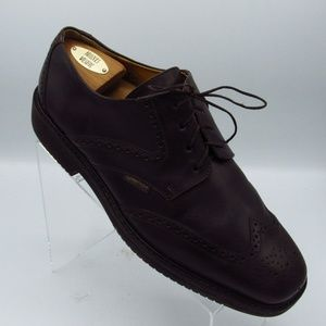 Mephisto Shoes Size 10.5 Wingtip Oxford Leather